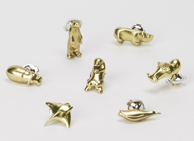 Kingo Animal Pins
