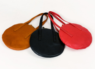 Circle bag S of bag place made of Maruyo Katano